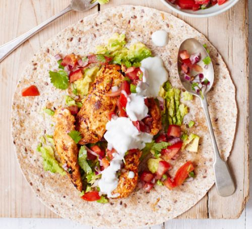 26 griddled-chicken-fajitas-with-squashed-avocado